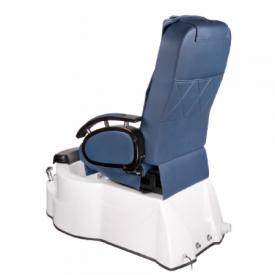 Fotel do pedicure z masażem BR-3820D Niebieski #8