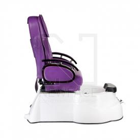 Fotel do pedicure z masażem BR-3820D Fioletowy #10