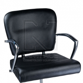 Fotel fryzjerski LIVIO czarny BD-1003 #2