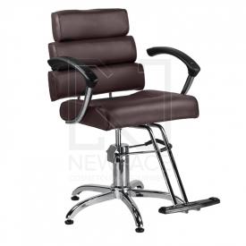 Fotel fryzjerski FIORE brąz BR-3857