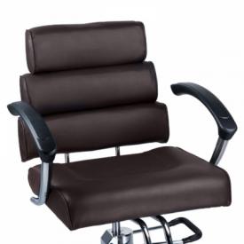 Fotel fryzjerski FIORE brąz BR-3857 #2