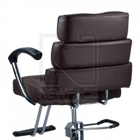 Fotel fryzjerski FIORE brąz BR-3857 #3