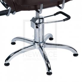 Fotel fryzjerski FIORE brąz BR-3857 #4