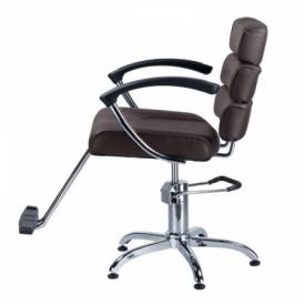 Fotel fryzjerski FIORE brąz BR-3857 #5