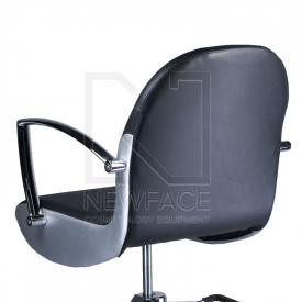 Fotel fryzjerski ADAMO czarny BD-1017 #3
