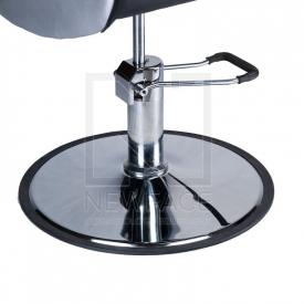 Fotel fryzjerski ADAMO czarny BD-1017 #4
