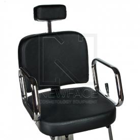 Fotel fryzjerski dla golibrody AXEL BD-2002 Czarny #2