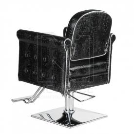 Fotel fryzjerski Carlo czarny BM-256 #3