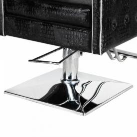Fotel fryzjerski Carlo czarny BM-256 #5