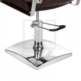 Fotel fryzjerski DINO brązowy BR-3920 #3