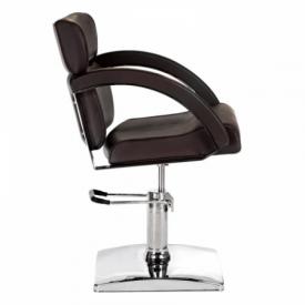 Fotel fryzjerski DINO brązowy BR-3920 #4