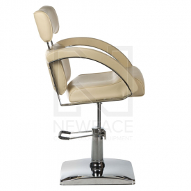 Fotel fryzjerski DINO kremowy BR-3920 #2