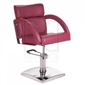 Fotel fryzjerski DINO wrzosowy BR-3920
