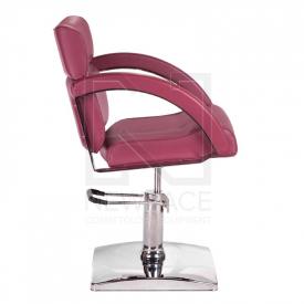 Fotel fryzjerski DINO wrzosowy BR-3920 #4