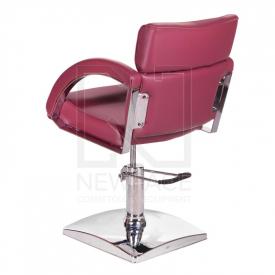 Fotel fryzjerski DINO wrzosowy BR-3920 #5