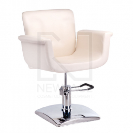 Fotel fryzjerski ELIO kremowy BD-1038 #1