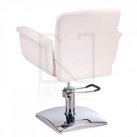 Fotel fryzjerski ELIO kremowy BD-1038 #2