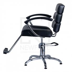 Fotel fryzjerski FIORE czarny BR-3857 #5