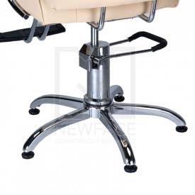 Fotel fryzjerski FIORE kremowy BR-3857 #4