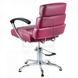Fotel fryzjerski FIORE wrzosowy BR-3857 #2