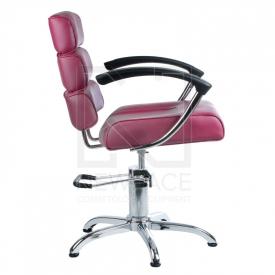 Fotel fryzjerski FIORE wrzosowy BR-3857 #3
