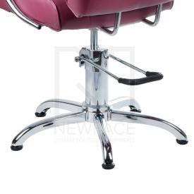 Fotel fryzjerski FIORE wrzosowy BR-3857 #4