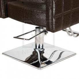Fotel fryzjerski Leone brązowy BM-297 #2