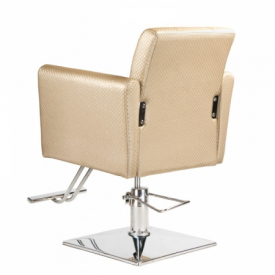 Fotel fryzjerski Leone kremowy BM-297 #3