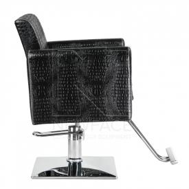 Fotel fryzjerski Lorenzo czarny BM-291 #2