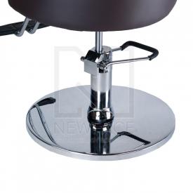 Fotel fryzjerski LUIGI BR-3927 brąz #2