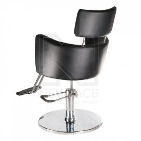 Fotel fryzjerski LUIGI BR-3927 czarny #3