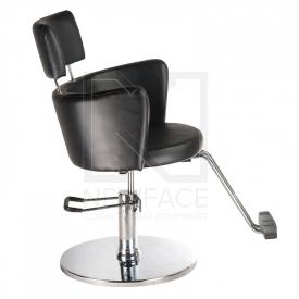 Fotel fryzjerski LUIGI BR-3927 czarny #4