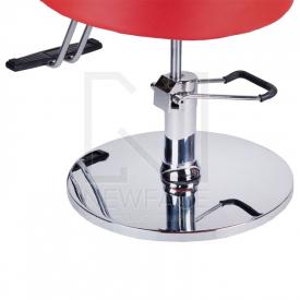 Fotel fryzjerski LUIGI BR-3927 czerwony #3