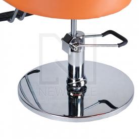 Fotel fryzjerski LUIGI BR-3927 pomarańczowy #4