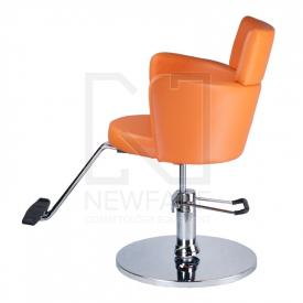 Fotel fryzjerski LUIGI BR-3927 pomarańczowy #5