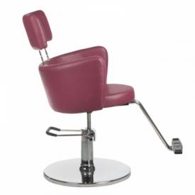 Fotel fryzjerski LUIGI BR-3927 wrzos #3