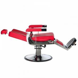 Fotel fryzjerski LUMBER BD-2121 Czerwony #5