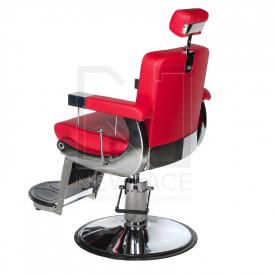 Fotel fryzjerski LUMBER BD-2121 Czerwony #6