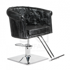 Fotel fryzjerski Marco czarny BM-209 #1