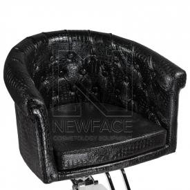 Fotel fryzjerski Marco czarny BM-209 #2
