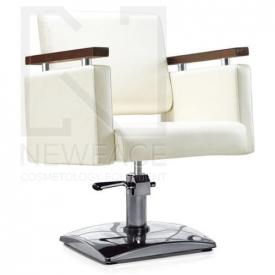 Fotel fryzjerski MILO kremowy BD-1123 #1