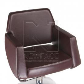Fotel fryzjerski NICO brązowy BD-1088 #1