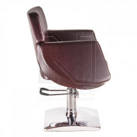 Fotel fryzjerski NICO brązowy BD-1088 #2