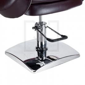 Fotel fryzjerski NICO brązowy-kremowy BD-1088 #4