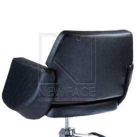 Fotel fryzjerski NICO czarny BD-1088 #3