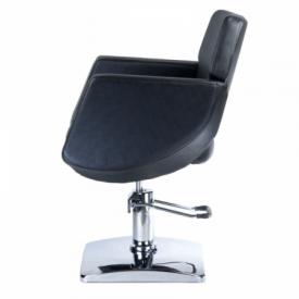 Fotel fryzjerski NICO czarny BD-1088 #5