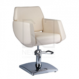 Fotel fryzjerski NICO kremowy BD-1088 #1