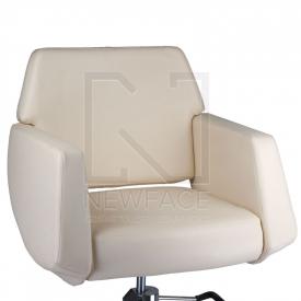 Fotel fryzjerski NICO kremowy BD-1088 #3