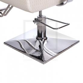 Fotel fryzjerski Vito BM-017 perłowy LUX #5