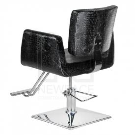 Fotel fryzjerski Vito BM-017 czarny LUX #3